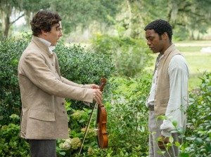 Cumberbatch and Ejiofor in 12 Years a Slave