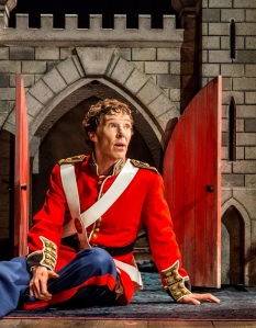 Benedict Cumberbatch in Hamlet.