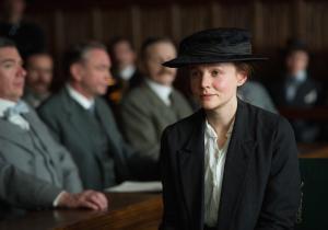 Mulligan in Suffragette.