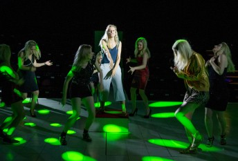 """""""'People, Places and Things' Play by Duncan Macmillan performed in the Dorfman Theatre at the Royal National Theatre"""""""